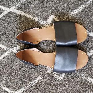 Madewell open toe flats 6.5